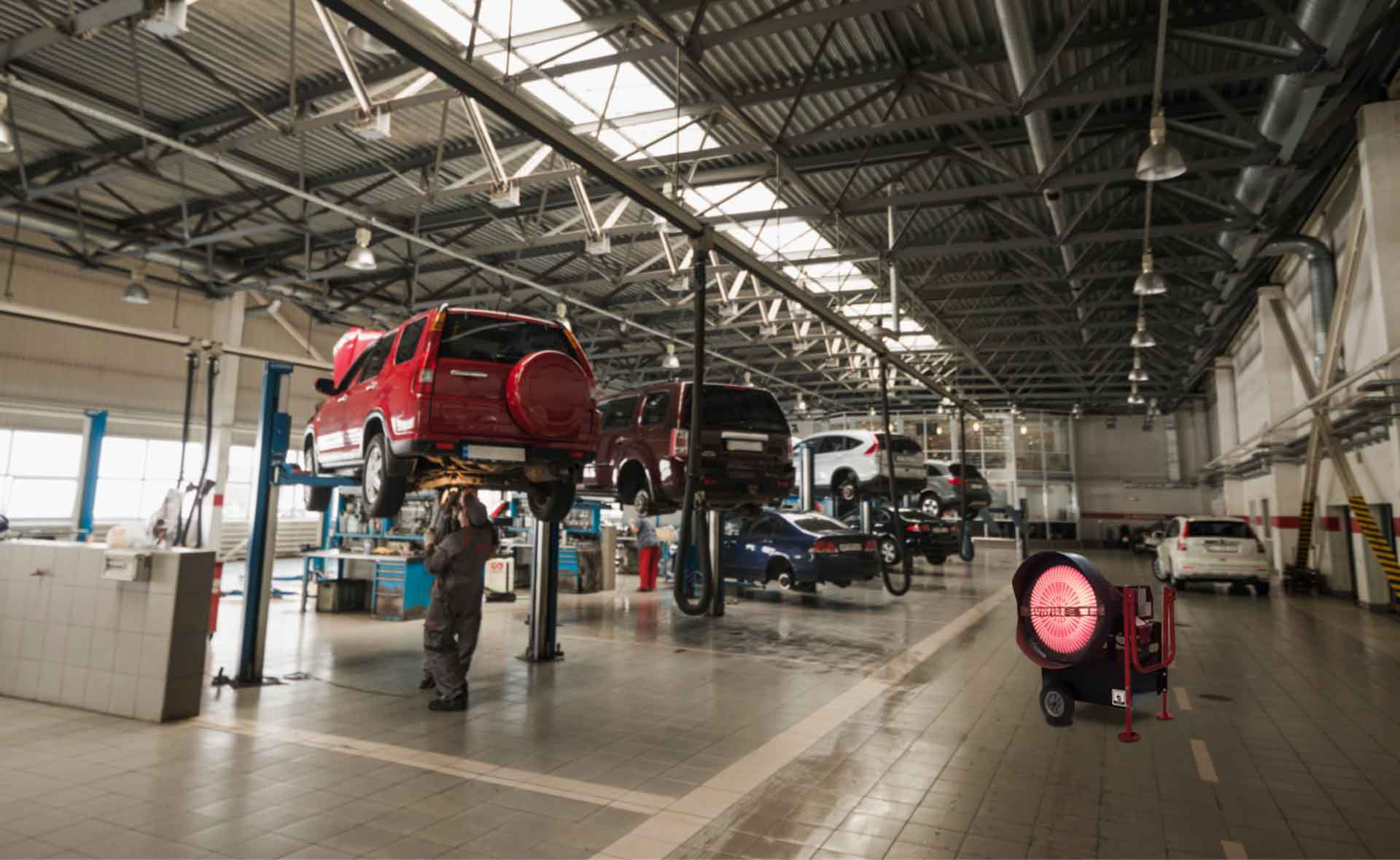 SUNFIRE Automotive Heat 8