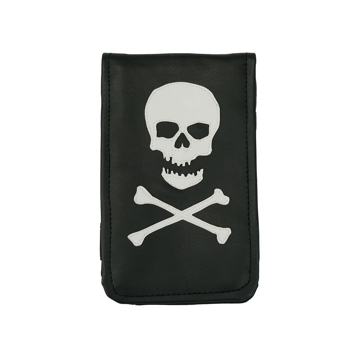 Skull And Crossbones Scorecard Yardage Book Holder Sunfish