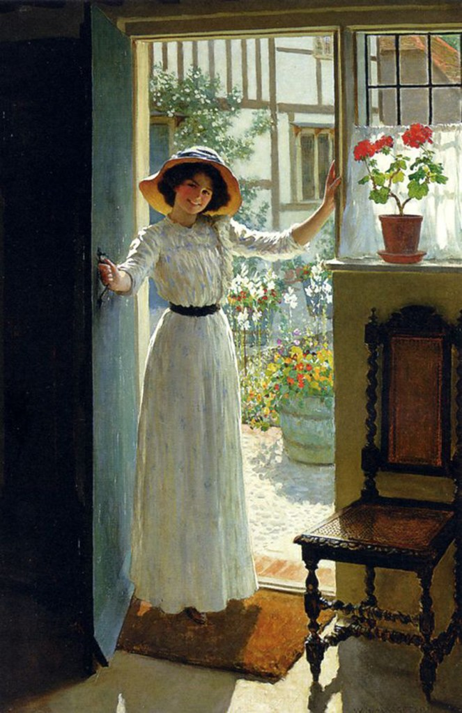 Heather Hickerson Astleford | William Henry Margetson | www.sunflowermagnolia.com