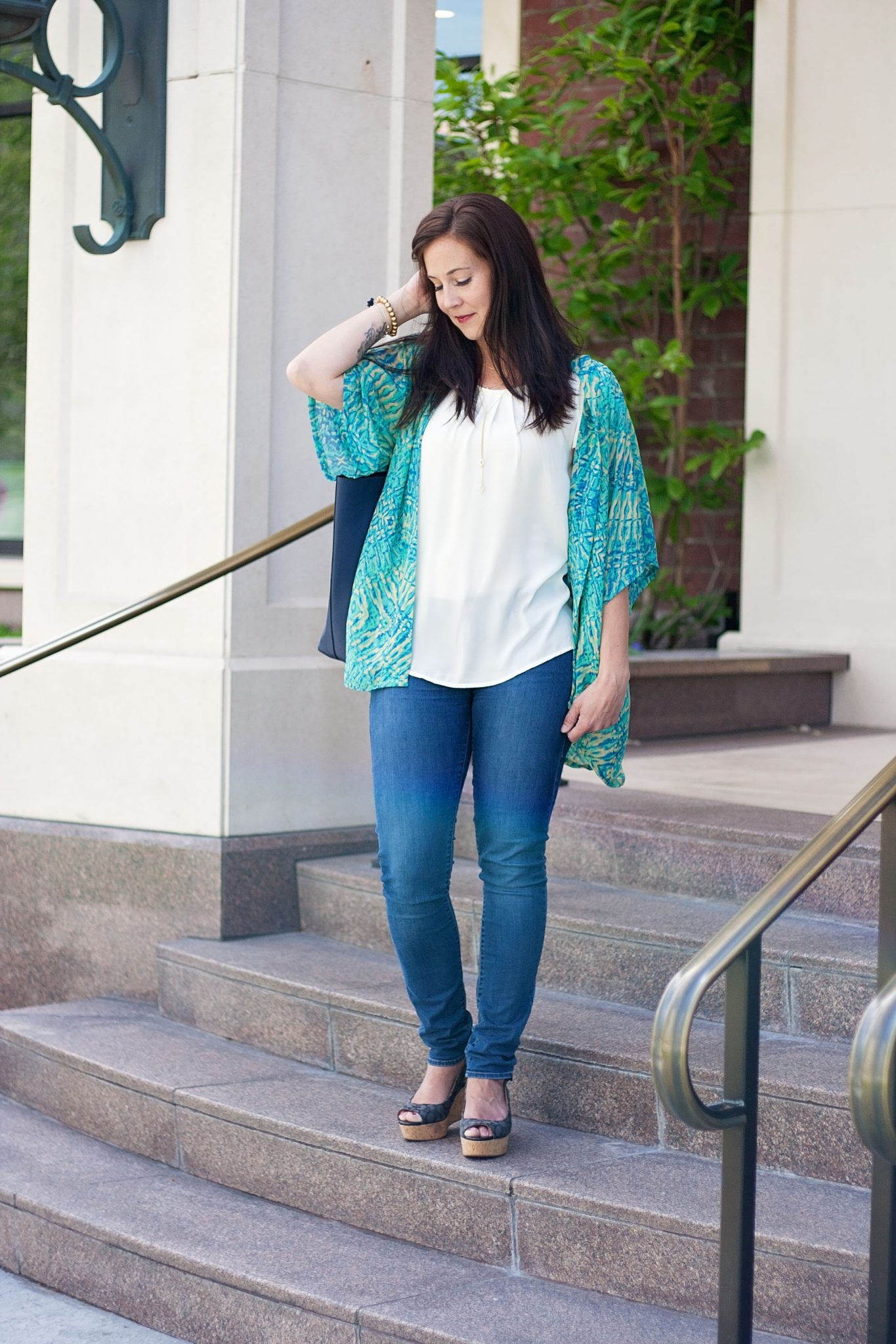 The Willow Kimono {Designer Stitch}