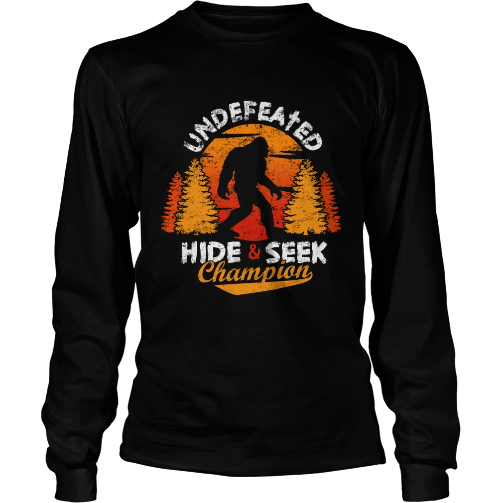 Undefeated Hide And Seek Champion Shirt Hoodie Tank