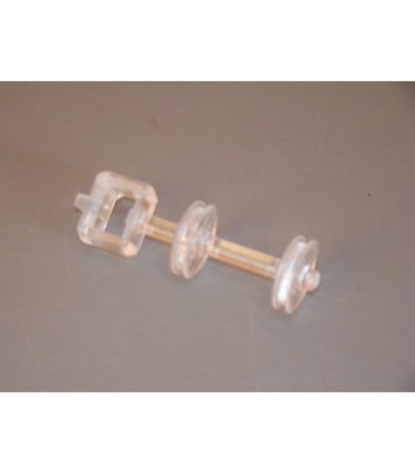 Piston du robinet pour levier de débit LEON Rose