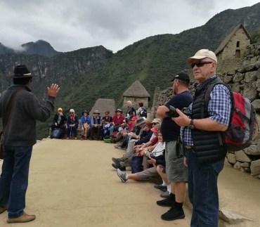 Humberto at Machu Picchu