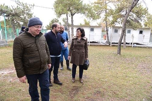 Sungurlu Belediyesi ilçeye kuracağı hayvan bakımevi için Çorum'da teknik incelemelerde bulundu.