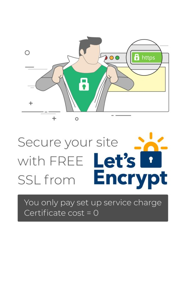 Free SSL from Lets Encrypt - Sunil Chauhan