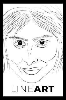 Line Art Caricature Service by Sunil Chauhan