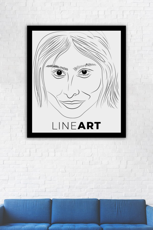Line Art Caricature by Sunil Chauhan