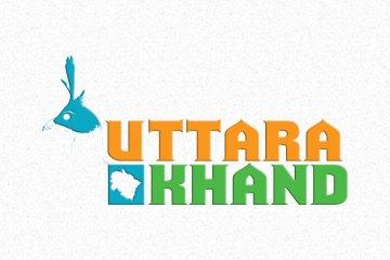 uttarakhand logo design