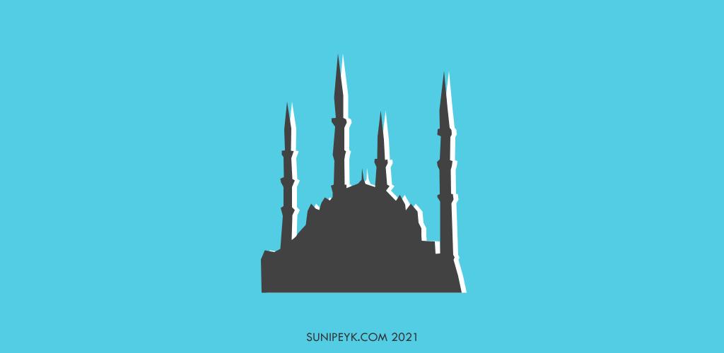 Selimiye camii silüeti