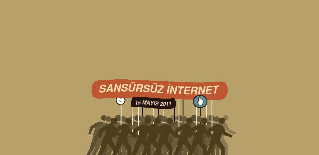 sansürsüz internet yürüyüşü