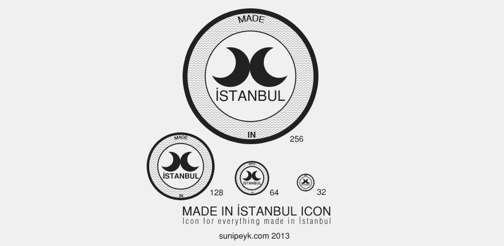 made in istanbul icon logo