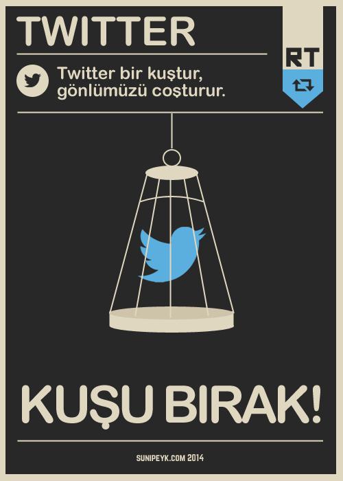 twitter bir kuştur