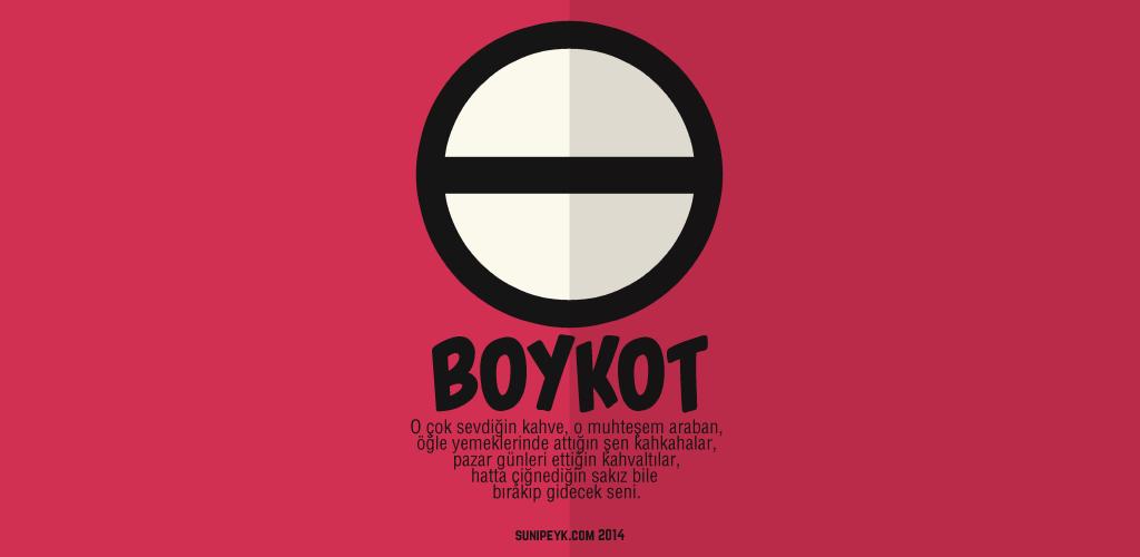 boykot posteri 3