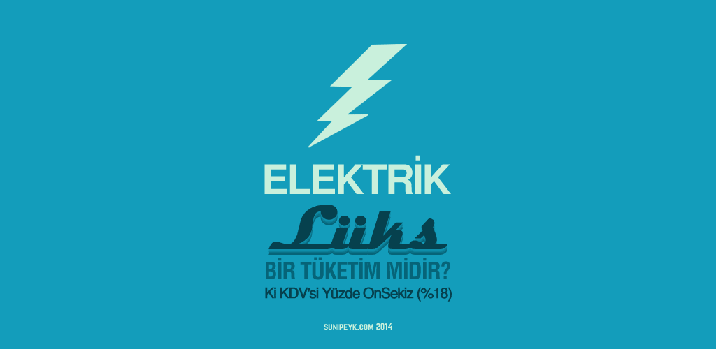 elektrik lüks ve kdvsi 18