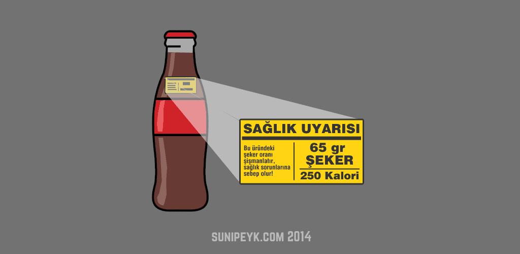 Şeker uyarısı