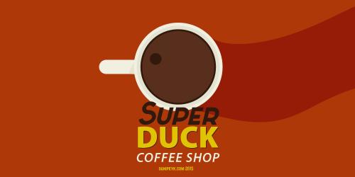 Super Duck coffee icon