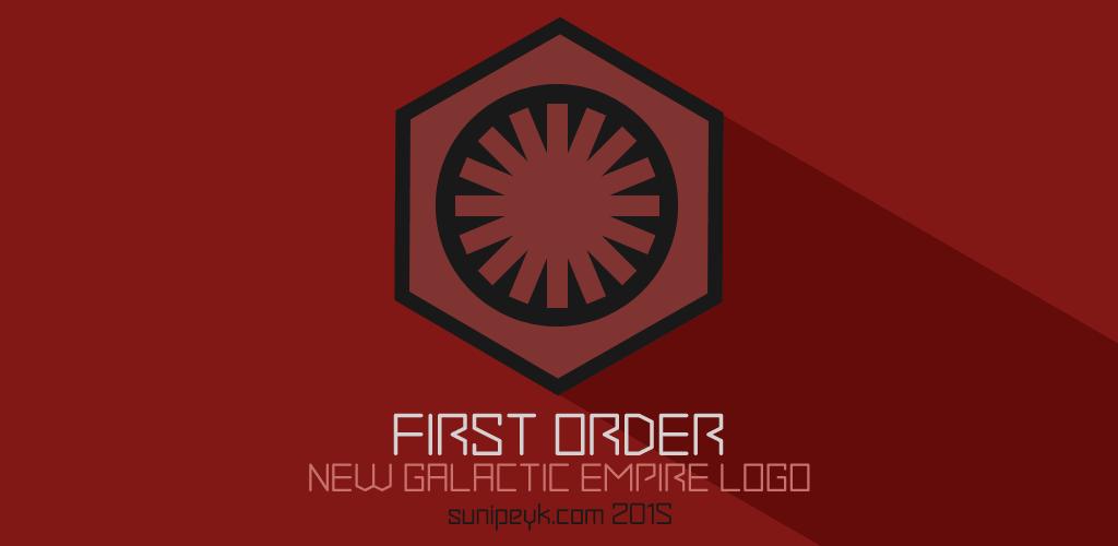 Star Wars first order logo
