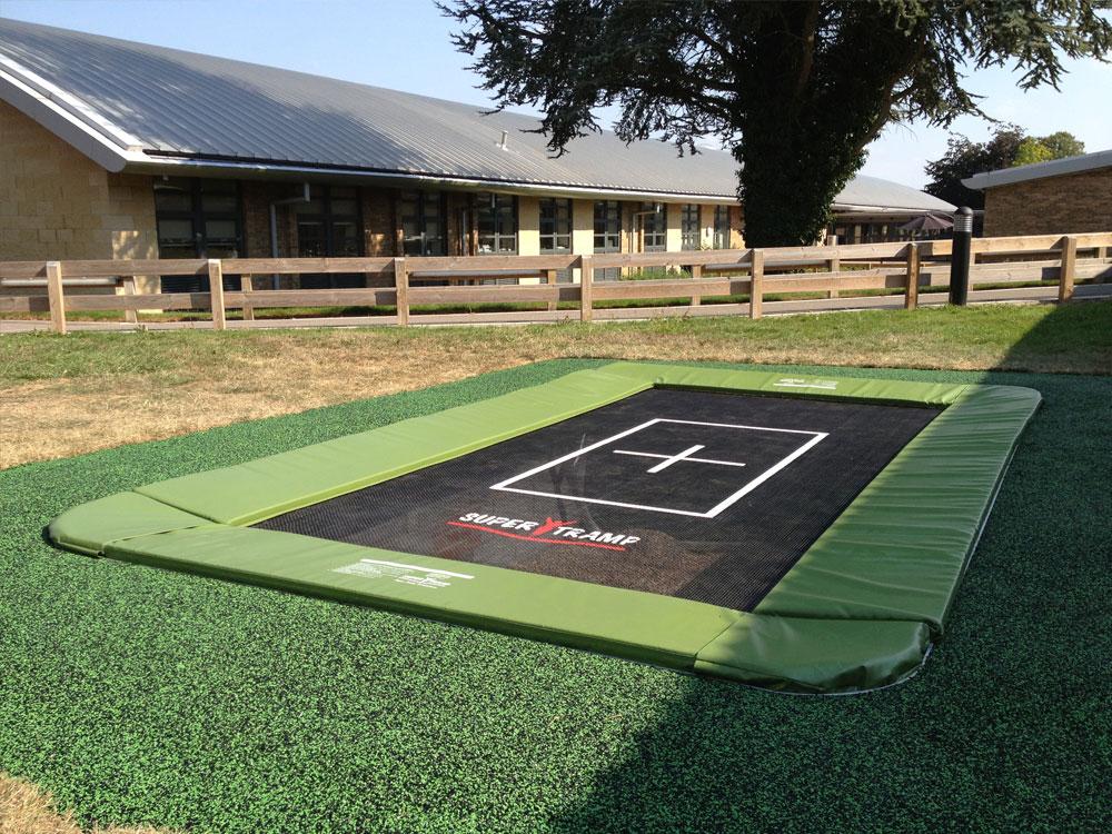 in ground trampoline sunken trampoline rebound therapy trampoline