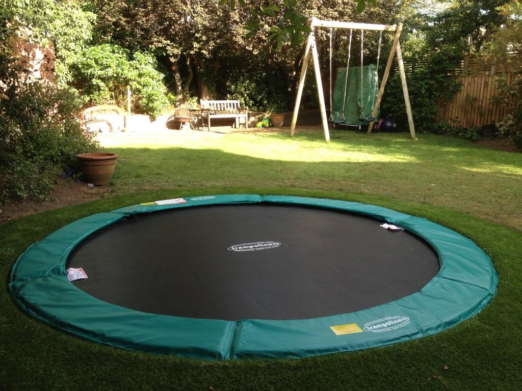 Nissen UK sunken trampoline
