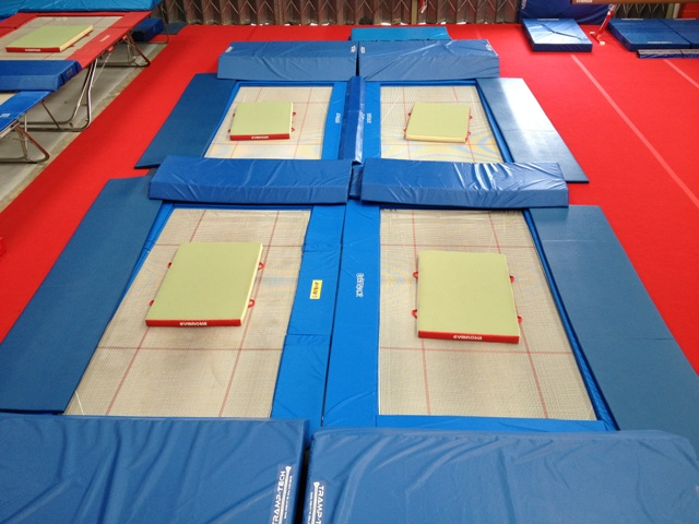 rebound therapy trampoline in ground trampoline sunken trampoline