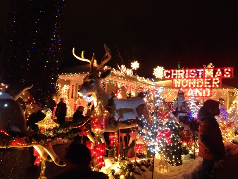 Pickering Christmas Light Location