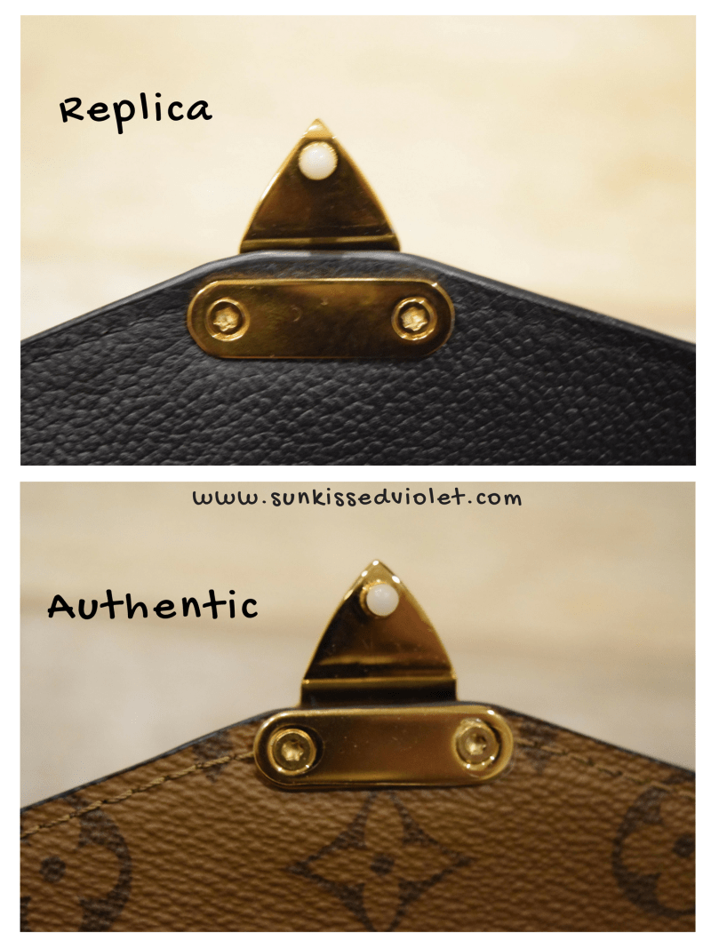 f311fc4dd92d How to spot a FAKE Louis Vuitton Pochette Metis  A Detailed Review ...