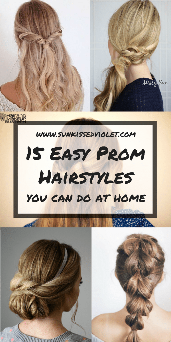 15 Easy Prom Hairstyles for Long Hair You Can DIY At Home | Detailed ...