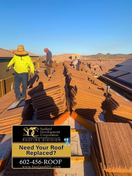 BORAL TileSeal underlayment shall not be left exposed as a temporary roof for longer than 90 days of application. Concrete Clay Tile Roof Phoenix Portfolio Sunland Development Corporation