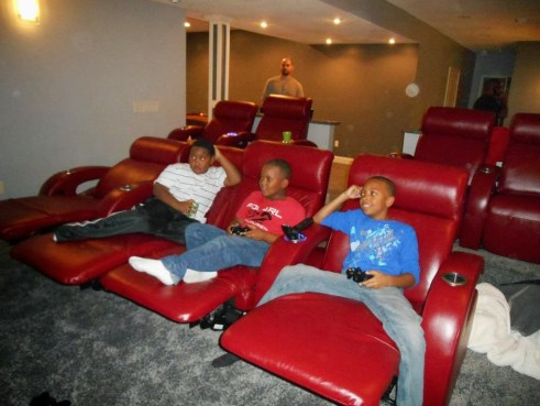 chillax in the home theater
