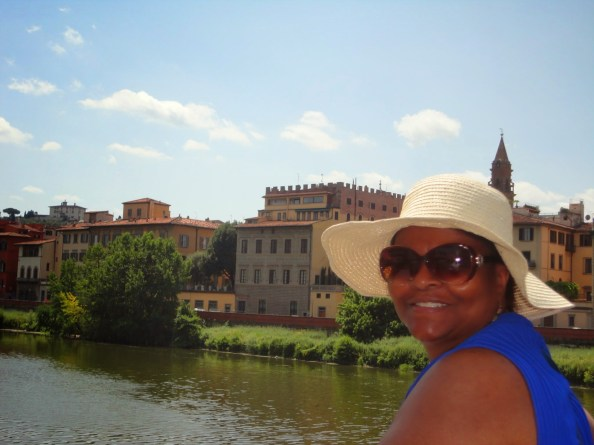 taking a break by the arno river