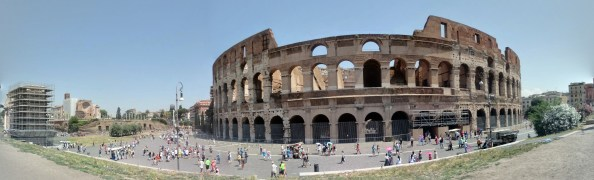 the infamous colosseum