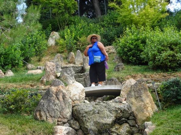 strolling through the japanese garden