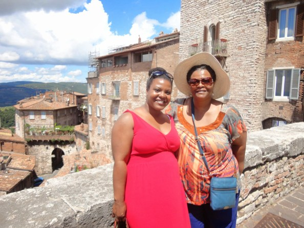 walking down the hills in perugia (i think, lol)