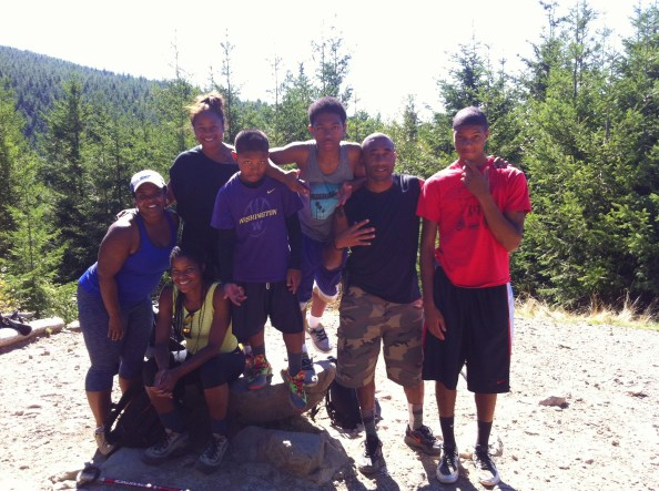 black people hike and love it