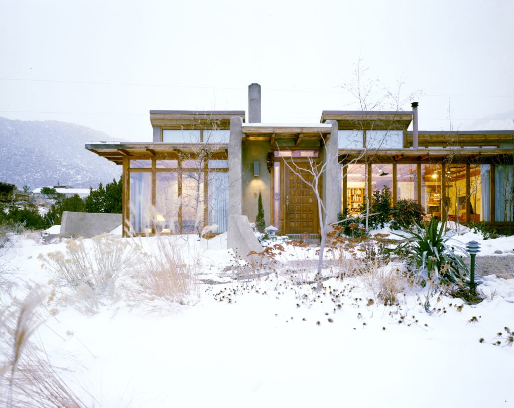 Gentile Exterior Clerestory Windows Passive Solar Stucco