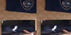 بالفيديو.. مشجع نصراوي يكسر الشاشة بعد هدف جوميز