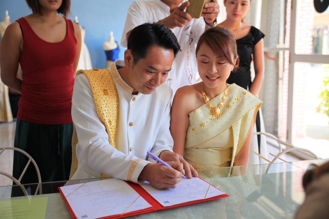 泰國清邁傳統泰式廟宇婚禮 - Sun N Sea Weddings 特色海外婚禮攝影蜜月策劃
