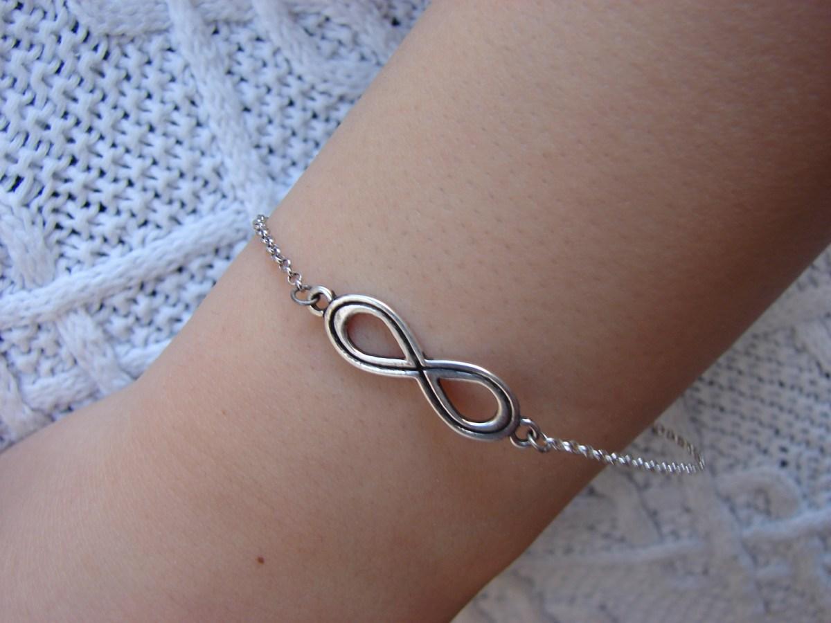 Bracelet Infinity Sterling Silver 925