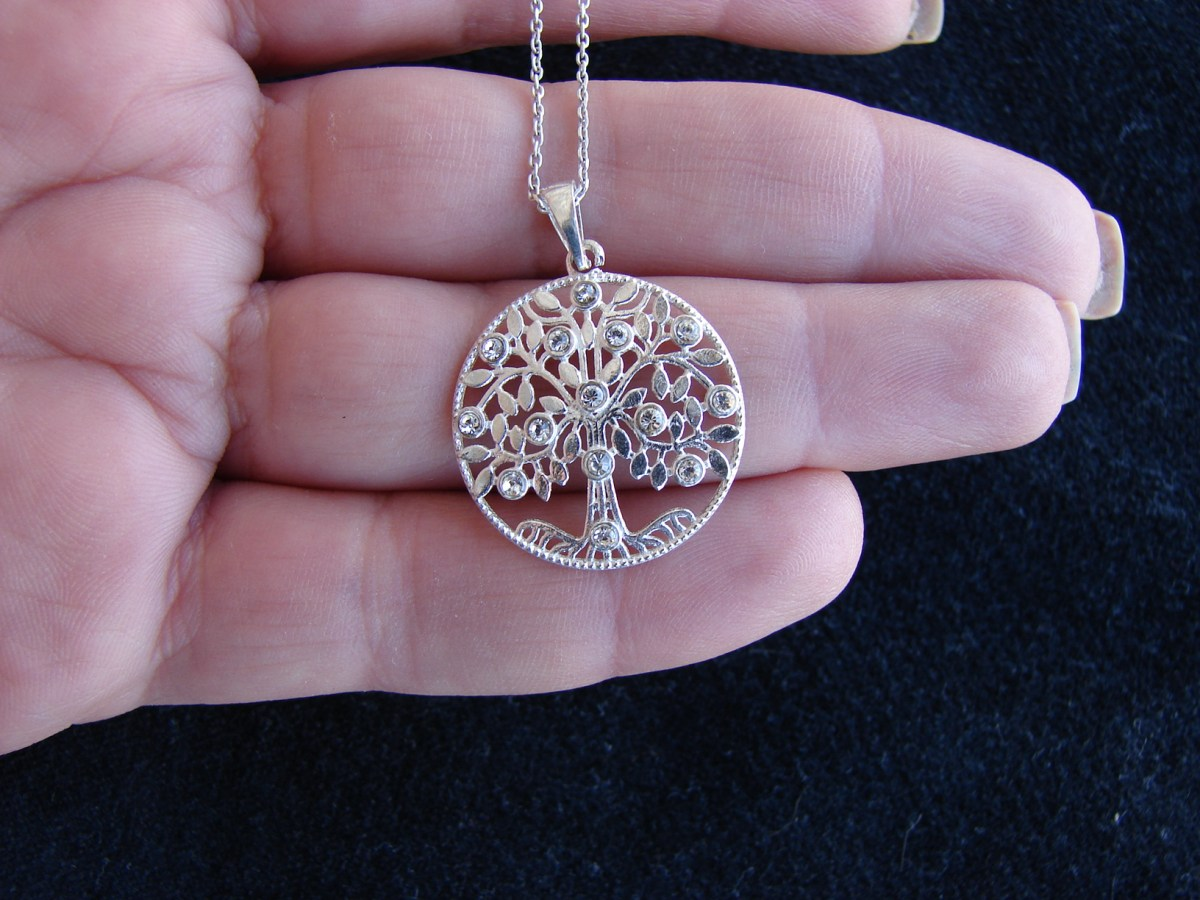 Pendant Tree of Life Sterling Silver 925
