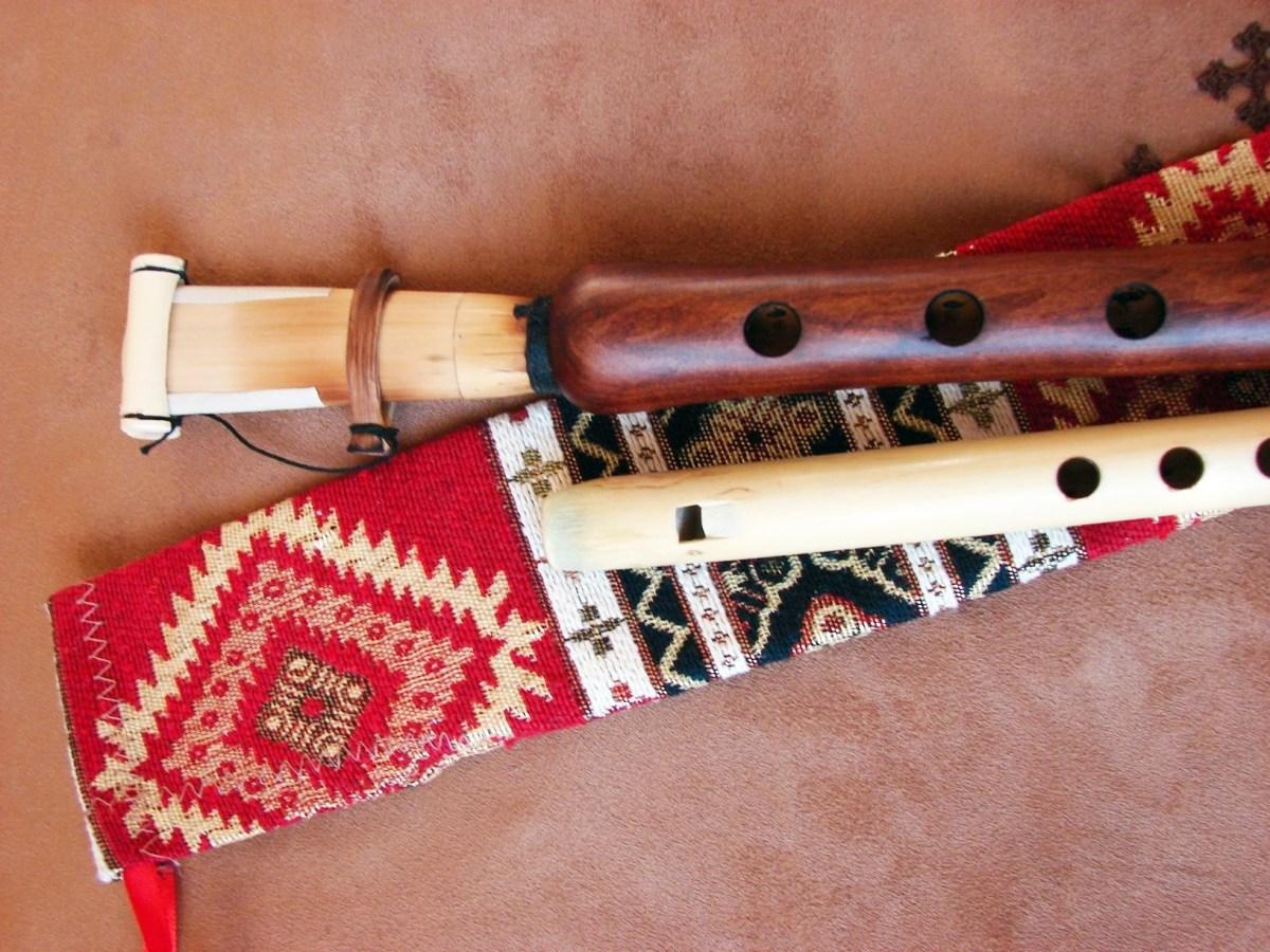 Handmade Pro Armenian Duduk and Flute