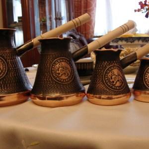 Armenian Handmade Coffee Pot Copper Arabic Coffee Maker Jezve Cezve Ibrik Turka