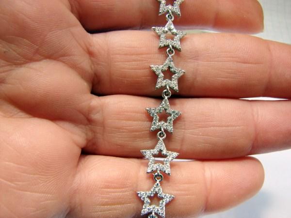 Sparkling Stars Bracelet Sterling Silver 925
