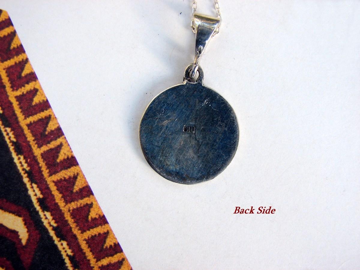 Armenian Goddess Anahit Pendant Sterling Silver 925