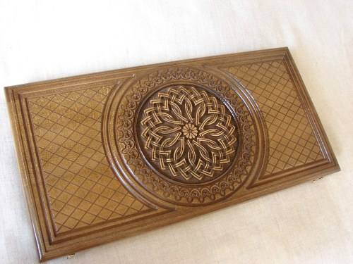 Backgammon Game Board, Wooden Handmade Armenian Nardi Nardy