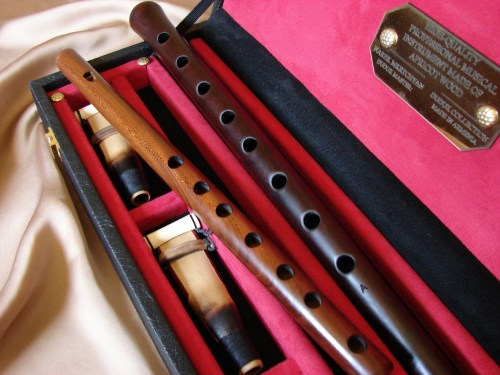 Professional Duduk and Flute in Wooden Hard Box, all keys