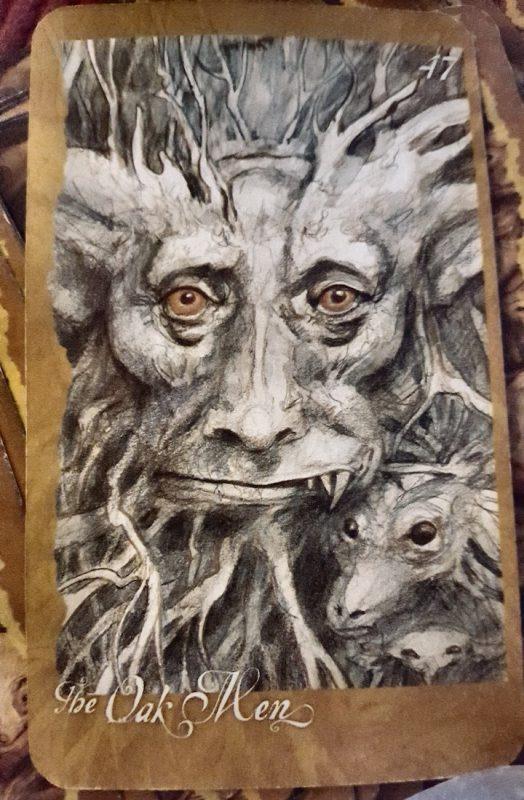 Oak Men Tarot Card