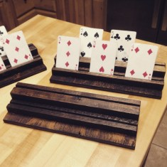 Playing Card Stand DIY by Sunny and 79