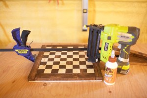 DIY Chess Board Table