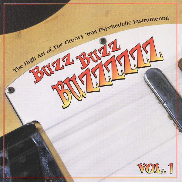 Various – Buzz Buzz Buzzzzzz Vol 1: The High Art Of Groovy 60s Psychedelic Instrumental Surf Music Album Compilation