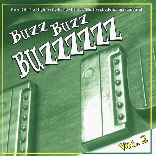 Various – Buzz Buzz Buzzzzzz Vol 2 : The High Art Of Groovy 60s Psychedelic Instrumental Surf Music Album Compilation